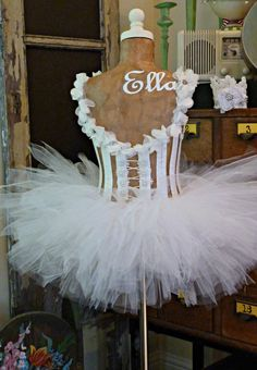 Would love for my studio! Princess Ballerina Dress Form Manneqquin Custom Personalized Vintage Inspired