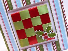 LOVE!!! Card & Ribbon Weaving How To!!!