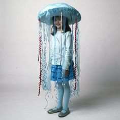 """This Jellyfish Costume is quick and easy and perfect for """"Oceans of Fun""""."""