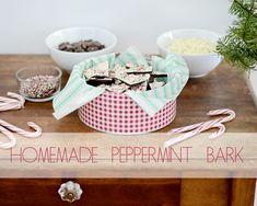 homemade peppermint bark