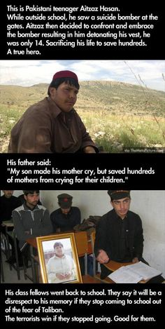 Random Pictures Of The Day – 74 Pics. A VERY good Muslim.  Many Muslims live under the tyranny of their extremist neighbors.   They kill Muslims more than they kill others.   So sad.