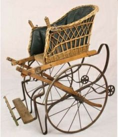 antique baby stroller ... ca. 1880's
