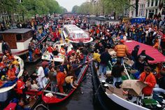Queensday Festival, Amsterdam...looks so fun!