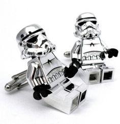 Star Wars storm trooper Lego mini figures Cuff Links