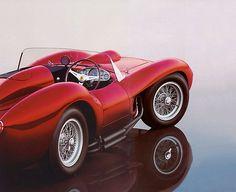 ride, car, wheel, ferrari 250, ferrari testarossa, testa rossa, auto, 1957 ferrari, 250 testarossa