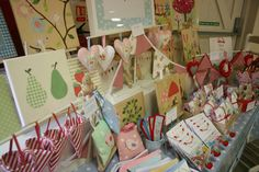 Adorable items and display! Craft Fair Stall display
