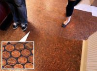 A Luxurious Copper Floor for Pennies and 7 Other Penny Decor Projects | Square Pennies