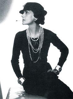 Coco Chanel & Pearls