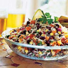 Debi's Confetti Salad - gluten-free, meat-free - super yummy!  #debihough