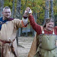 Evangeline & Corey's Norse viking wedding