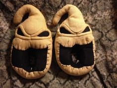 Nightmare Before Christmas Oogie Boogie Slippers Size 7-8