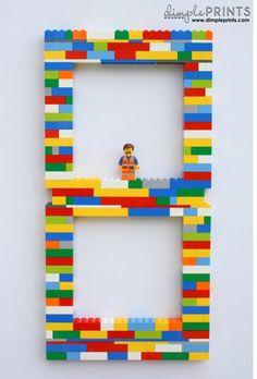 Lego Backdrop Idea