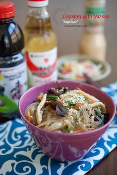Japchae (korean glass noodles) @Brittany Loyer (Grams), Rasa Malaysia