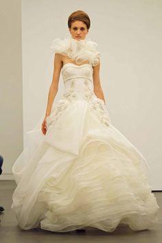 Vera Wang 2013 Fall Bridal Collection Wedding Dress #wedding #gown #bridal
