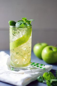 Apple Mojito by Sam Henderson for Chasing Delicious