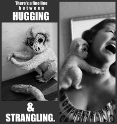 Hugging vs Strangling