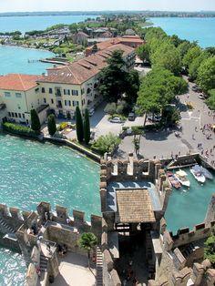 sirmione lake garda, visit, bella italiaplac, travel, places