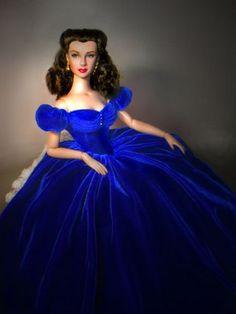 Scarlett O'Hara Blue Gown