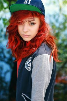lovely red curly locks