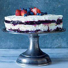 Berries and Cream Cheesecake