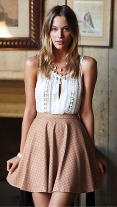 Anthropologie. Seriously adorable, although it would be too short on me