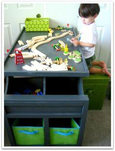 MM Storage Cubby Desk!