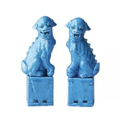 Pair of Foo Dogs Book Ends