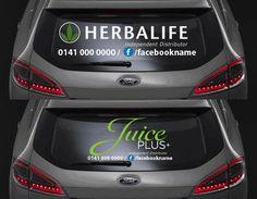 Herbalife Car Decals Uk