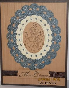 framed angel by LoisJP - Cards and Paper Crafts at Splitcoaststampers