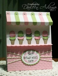 I really love the Sweet Shoppe idea. Seen it numerous times. This one is very cute.