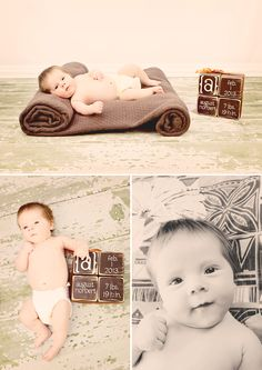 2 Month Photos Baby  - Deanne Mroz Photography
