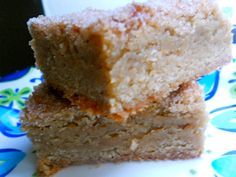 Snickerdoodle Blondies! If you love snickerdoodles and soft chewy cookies you will LOVE these