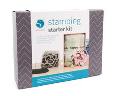 Get the Silhouette Stamping Starter Kit for 30% off right now using code: STAMP (valid until 4.17.14) silhouett stamp, gift, starter kit, art crafts, card, silhouettes, stamp starter, portrait, silhouette cameo