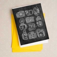 Free Printable: camera note cards