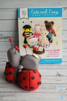 YAYYYY!!! My BOOK - Cute and Easy Cake Toppers is now AVAILABLE! Click on the link to visit my website to buy!  http://www.sugarhighinc.com