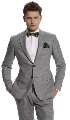 Custom Glenplaid suit from Indochino: Check out the linings and the lapel felt