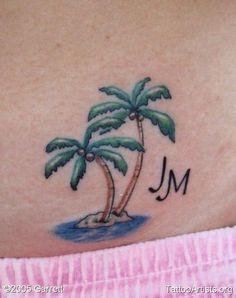 palm trees - Tattoo Artists.org