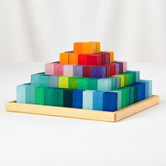 The Greater Pyramid Blocks (Small) from The Land of Nod