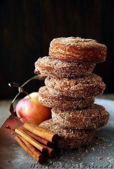 apple cinnamon donuts.... :)
