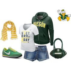 Game day outfit #GoDucks