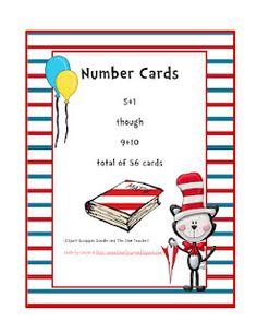 free preschool printables for Dr. Seuss