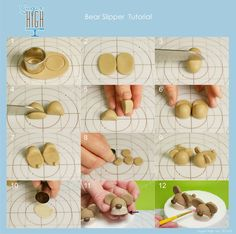 Bear Slipper tutorial