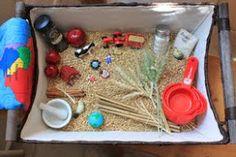 Apple Pie Sensory Basket from Delightful Learning
