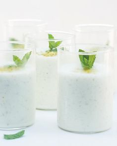 Pistachio & Honey Lassi via Sweet Paul #SweetPaul