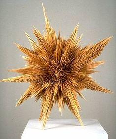 Untitled; toothpicks - Tom Friedman.