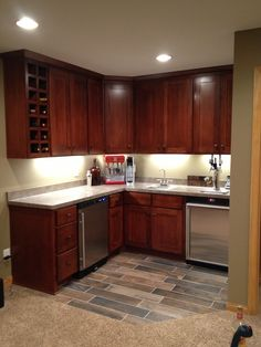 Finished basement ideas on Pinterest