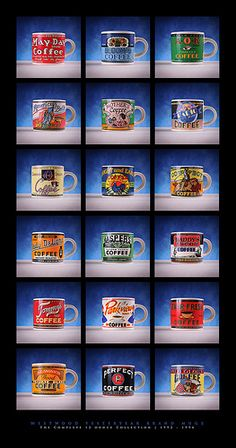 Westwood Yesteryear Mugs (portrait)
