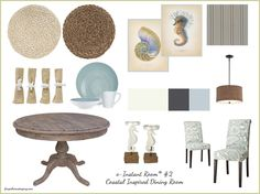 dining rooms, real people, dine room, coastal inspir, coastal dining table, inspir dine, decor idea