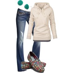 A fashion look from October 2012 featuring Fat Face hoodies, Splendid tops and True Religion jeans. Browse and shop related looks.