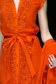 valentino + orange